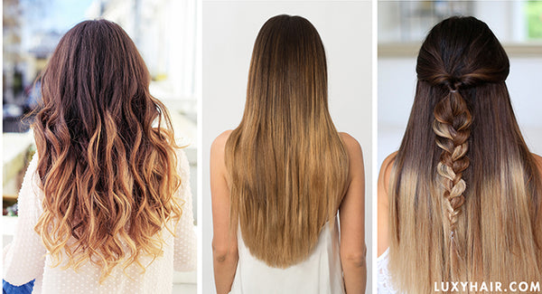 Luxy Hair Ombre Blonde