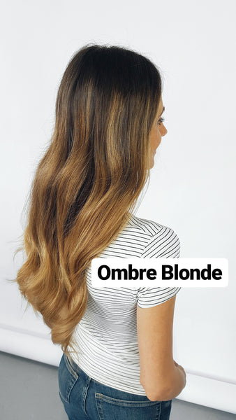 Ombre Hair Extensions - Ombre Blonde Luxy Hair