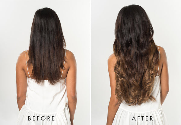Ombre Hair Extensions - Ombre Chestnut Luxy Hair
