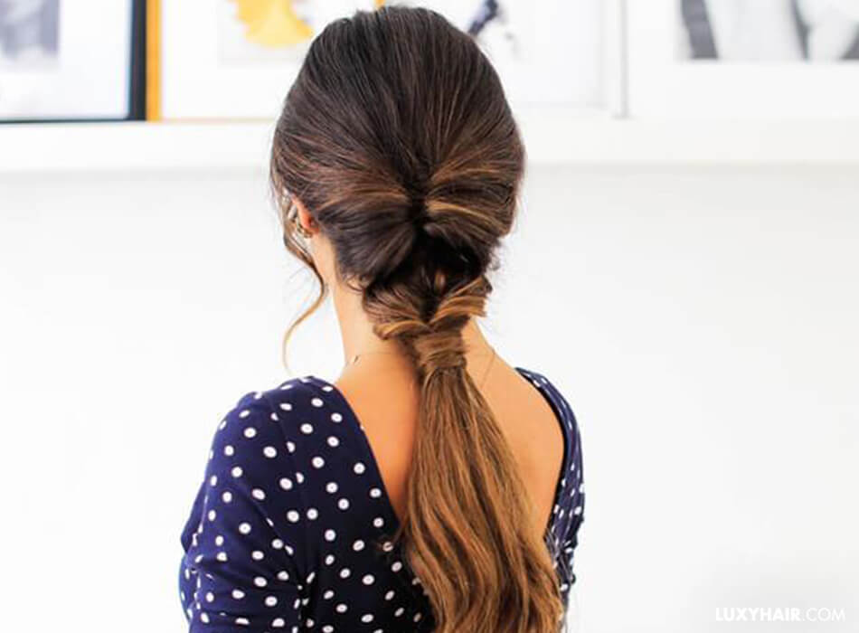 Different Ways To Wear A Ponytail Luxy Hair