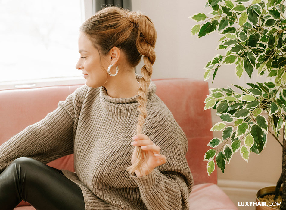 How to do a ponytail with extensions