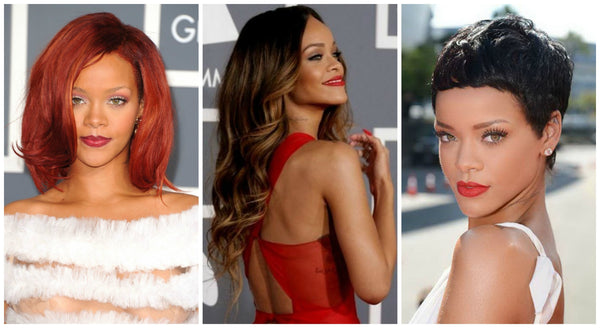 Rihanna hair extensions