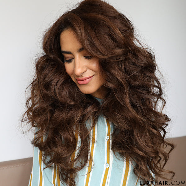 Hair Volume How To Get Big Voluminous Hair Luxy Hair