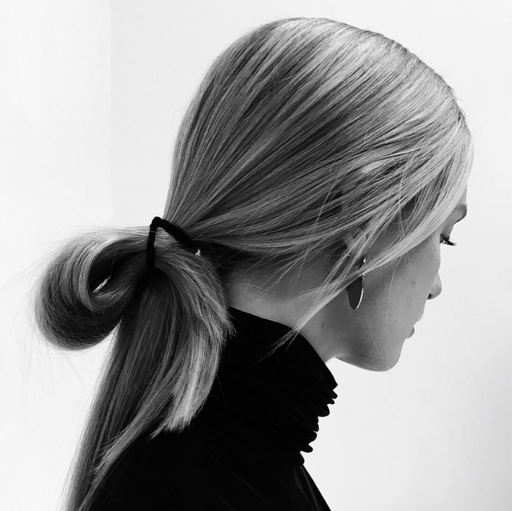 Sleek Ponytail styled by Sunnie Brook