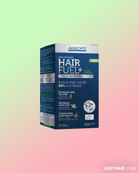 AGEOFF® HairFuel™, 30 Softgel   Hair Loss Treatment for Men and Women