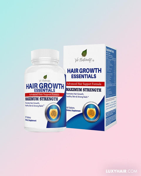 Hair Growth Essentials: #1 Rated Hair Loss Supplement