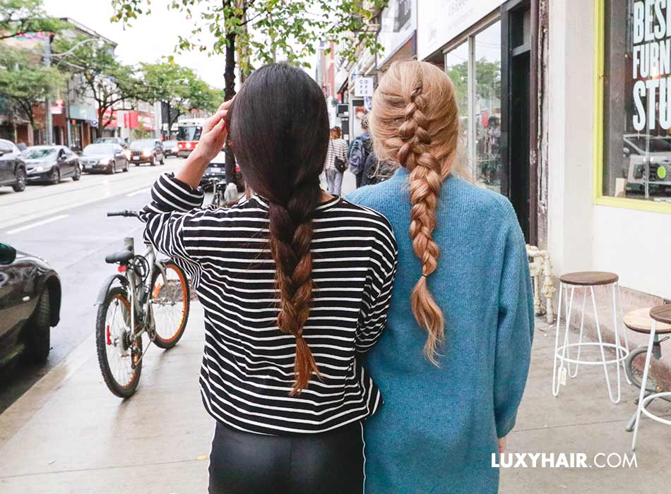 What Are The Different Types Of Hair Extensions Luxy Hair