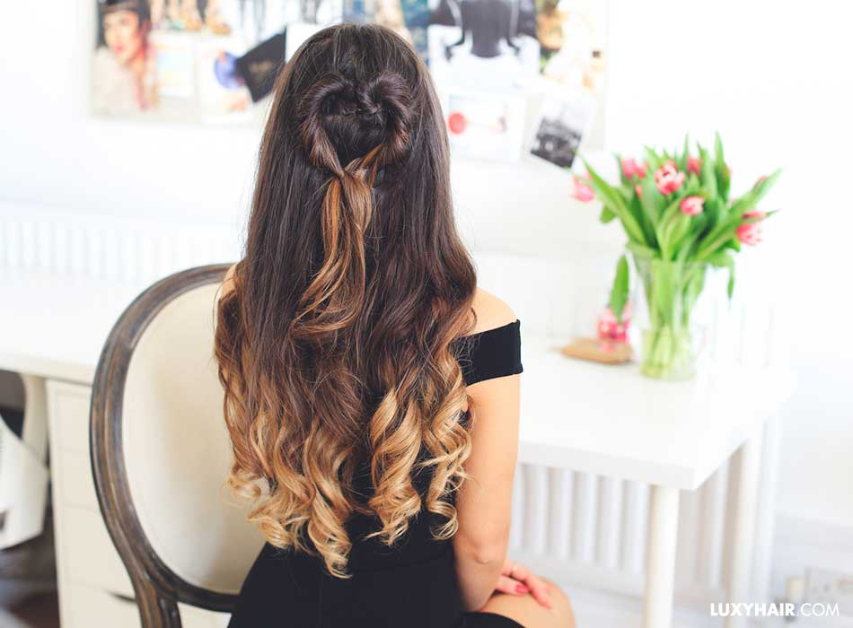 Valentine's Day Hair