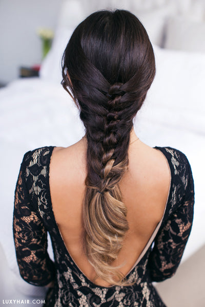 Hairstyles For Valentine's Day - Faux Knot Hairstyle