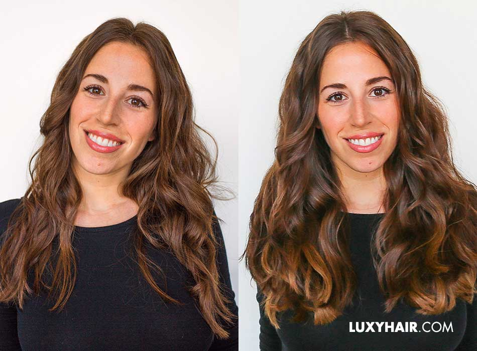 Hairstyle For Thick Hair How To Use Hair Extensions For Volume
