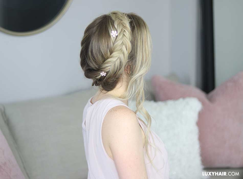 Beautiful Bridal Hairstyle For Long Hair: Wedding Hairstyles For Long Hair: Beautiful Long