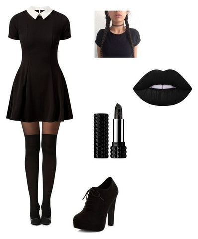 Diy costumes with black dresses