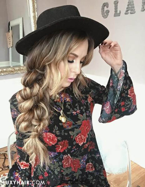Go-To Easy Summer Hairstyles | Luxy Hair Blog