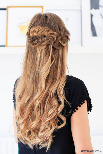 Easy Summer Hairstyle | Luxy Hair