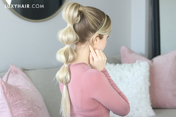 how to do a bubble braid