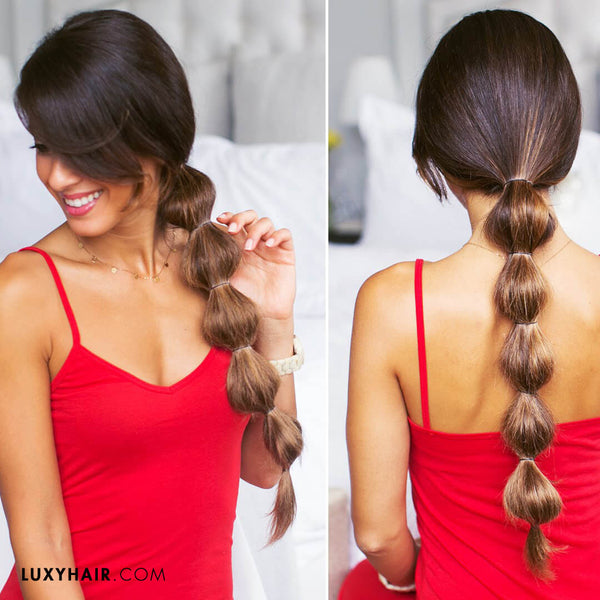 7 Different Ways to Wear A Ponytail Luxy Hair