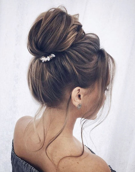 dress - How to knotted a style chignon video