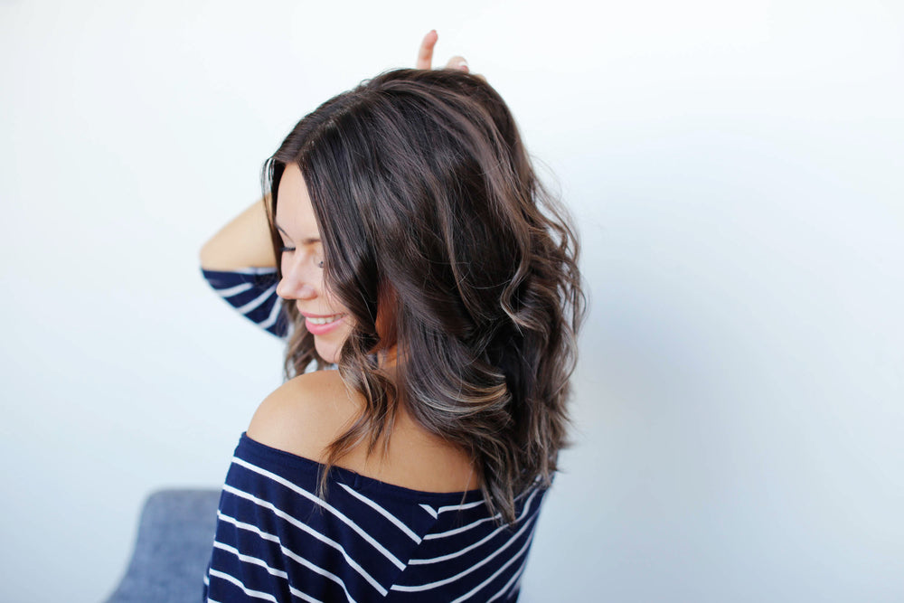 Darken your hair progressively, picture of dark brown hair