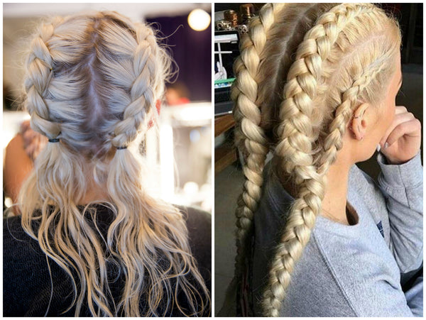 Hairstyles for music festivals