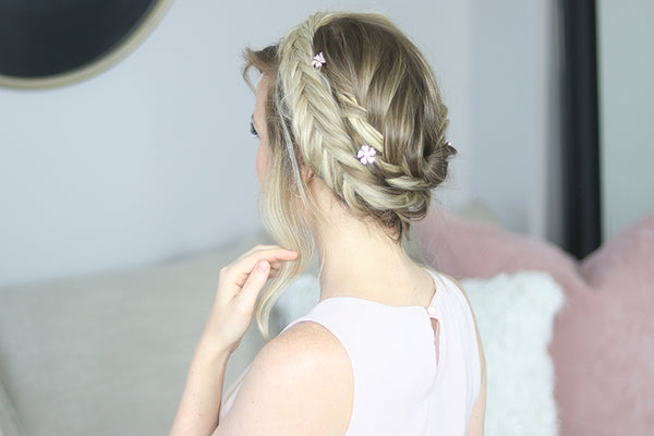 Wedding Hairstyles: 3 Beautiful Hairstyles for Brides or Bridesmaids