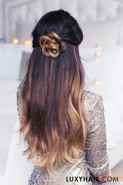 cute and easy last minute holiday hairstyles