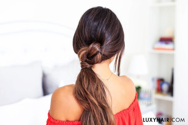 perfect easy hairstyles for lazy days
