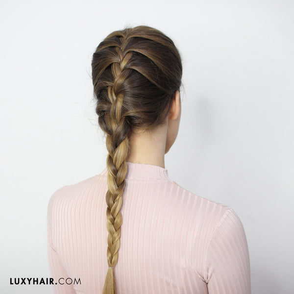 How To Do A French Braid: Hair Tutorials for Beginners – Luxy Hair