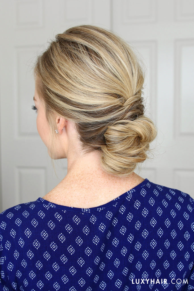 Luxy Hair Updo Hairstyle Tutorial Missy Sue