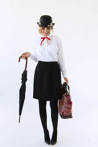 25 Ridiculously Easy Halloween Costumes (DIY) | Luxy Hair Blog | Mary Poppins