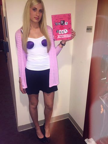 25 Ridiculously Easy Halloween Costumes (DIY) | Luxy Hair Blog | Regina George