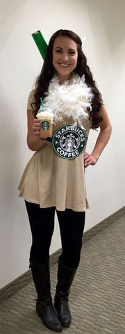 25 Ridiculously Easy Halloween Costumes (DIY) | Luxy Hair Blog | Starbucks