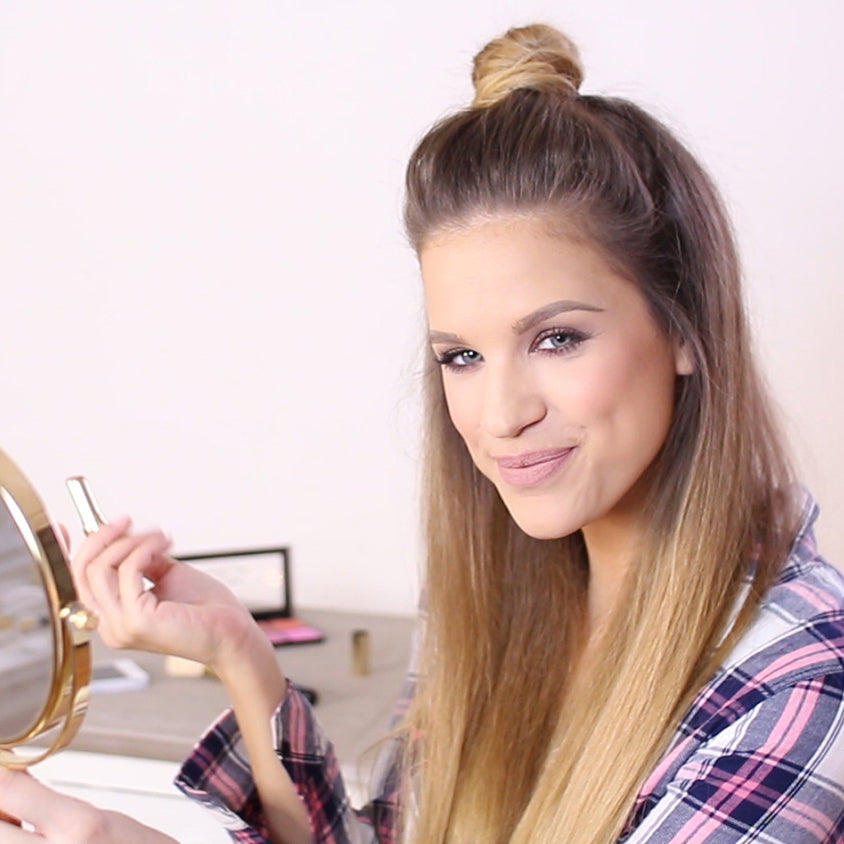 how to do a top knot hairstyle