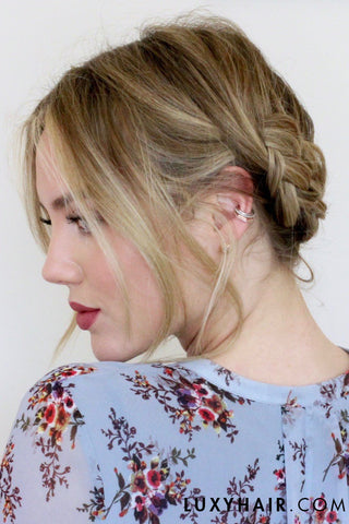 5 Easy Hairstyles For Short/Medium Length Hair [Spring Edition ...