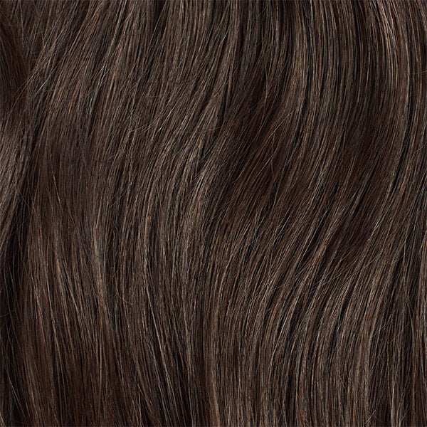 Seamless Cool Dark Brown Volume Bundle Clip-Ins