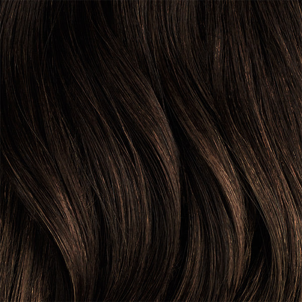 Seamless Mocha Brown Balayage Volumizer Weft