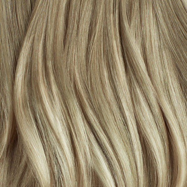 Seamless Sandy Blonde Balayage Volume Bundle