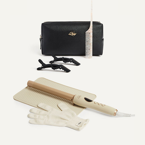Signature Hair Curler and Application Kit Bundle