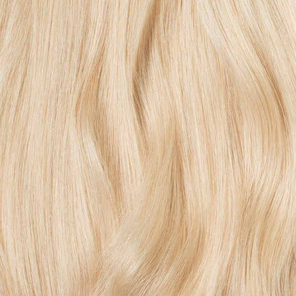 Seamless Ash Blonde Volume Bundle Clip-Ins