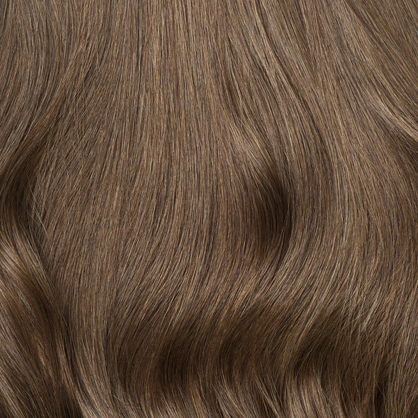 Seamless Ash Brown Volume Bundle Clip-Ins