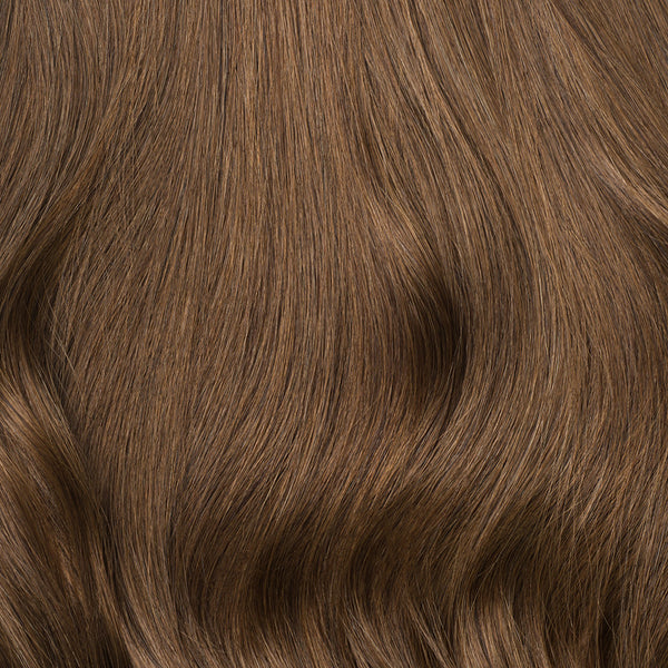 clip in hair extensions chestnut brown color 6 160 grams luxy