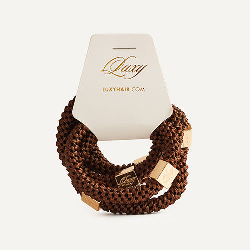 Gravity Defying Hair Ties: Brown