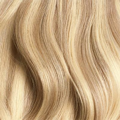 Seamless Dirty Blonde Highlights Volume Bundle Clip-Ins