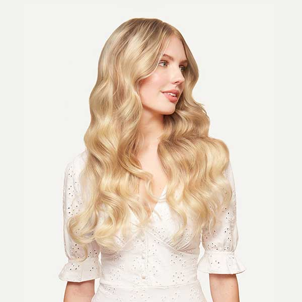 Seamless Clip-in Hair Extensions (Blonde Balayage) - Luxy Hair – Luxy Hair