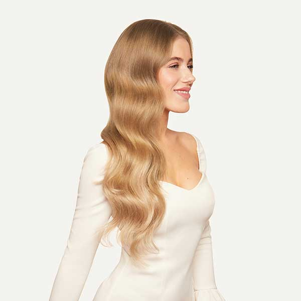 Clip-In Hair Extensions Dirty Blonde (Color 18 , 160 Grams ...