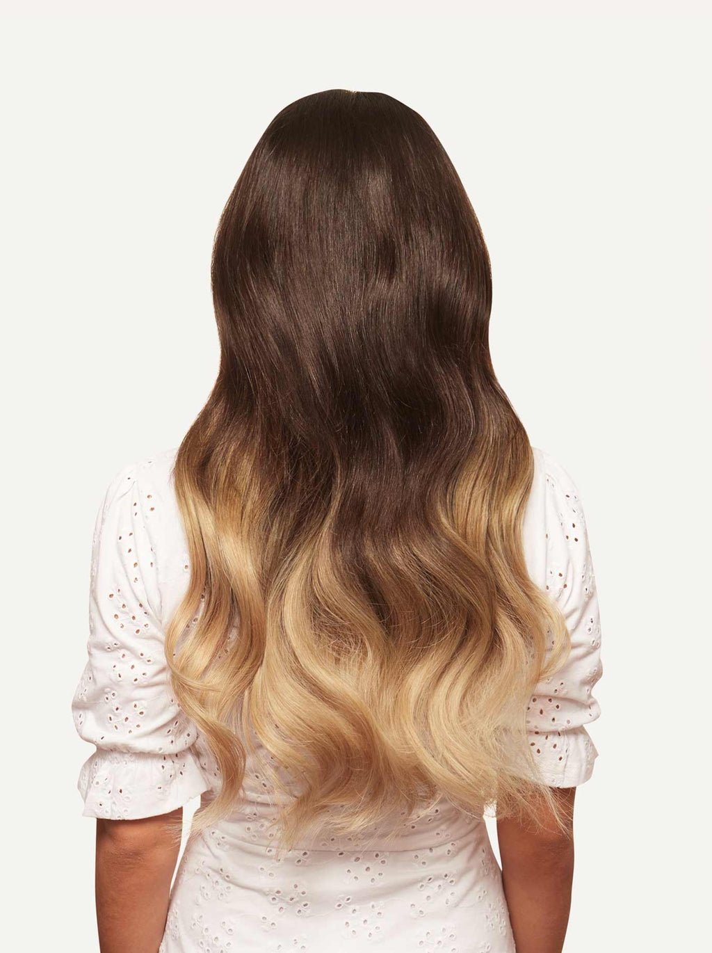 Clip In Hair Extensions Ombre Blonde Color T218 160 Grams