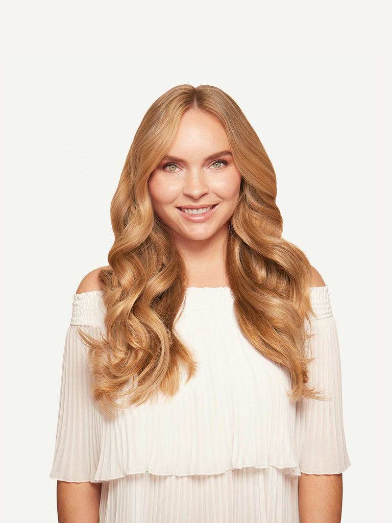 da0c54f37f11 Clip-In Hair Extensions Strawberry Blonde (Color 16