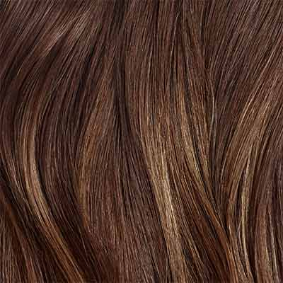 Seamless Chocolate Brown Balayage Volume Bundle Clip-Ins