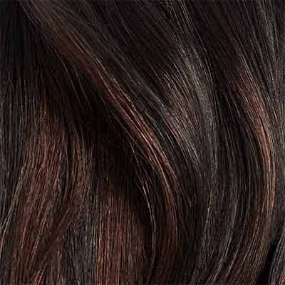 Seamless Off Black Balayage Volumizer Weft