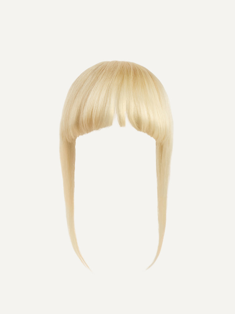 Luxy Hair - Ash Blonde Clip-In Bangs