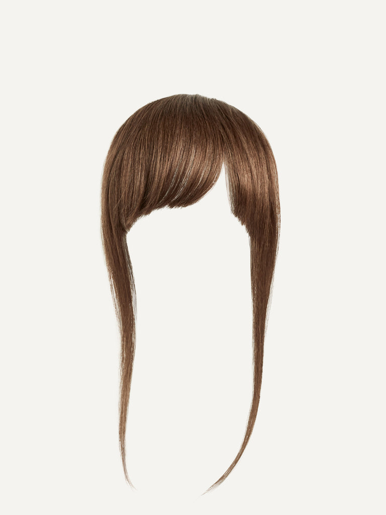 Luxy Hair - Chestnut Brown Clip-In Bangs